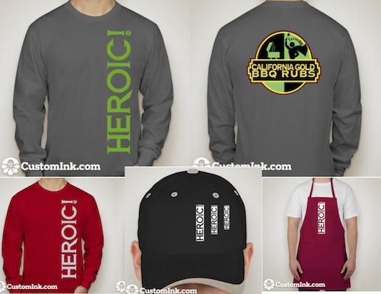 #heroicmerchandise
