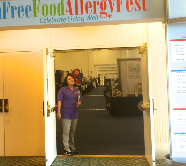 #SheliaCafferty #GlutenFree3 #GlutenFreeFoodAllergyFest