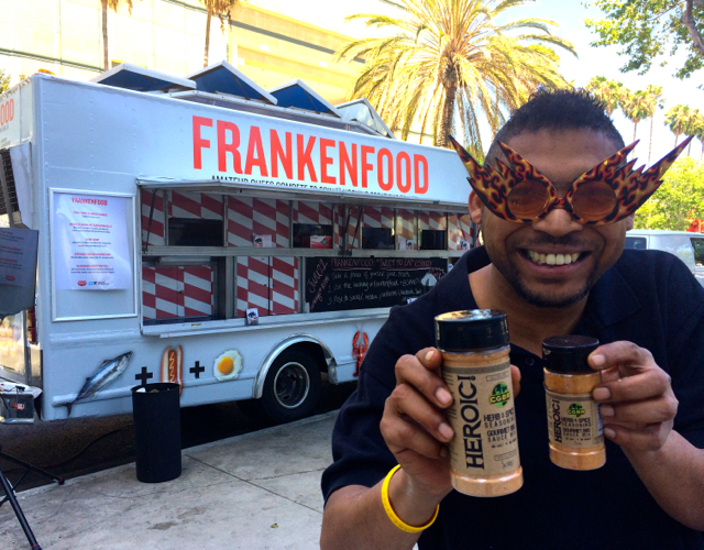 #MickBrown #FrankenFood #FoodTruck