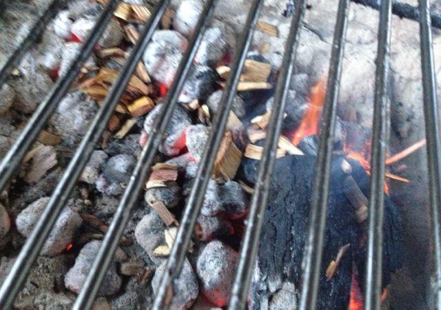 #charcoalsmoking #woodchips
