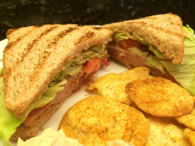 #smokedbologna #grilledbolognasandwich