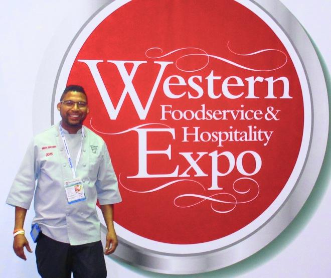 #mickbrown #chefmickbrown #westernfoodserviceandhospitalityexpo